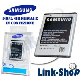 Batteria EB494358VU Originale Samsung per Galaxy Ace S5830 Gio Fit S Mini S5660