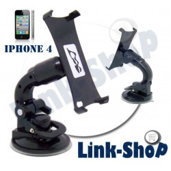 BIG Ventosa Supporto Auto Tavolo Porta Holder Ergonomico Cover per Iphone 4S e 4