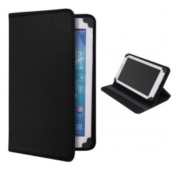 Custodia cover simil pelle stand universale per tablet 7 massimo 18,5 x 11,3 cm