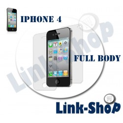 FULL BODY Pellicola Fronte Retro Proteggi Display per Apple Iphone 4S e 4 Panno