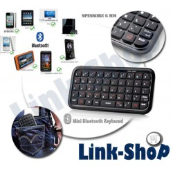 Mini Tastiera Bluetooth Palmari per Apple Iphone 4S 4 Ipad 2 HTC PS3 Samsung Nokia