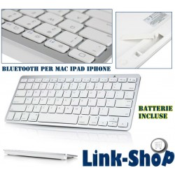 Mini Tastiera Bluetooth Wireless per Apple Mac Nuovo Ipad 2 3 Iphone 5S 5C 5 4 4S 6 Plus