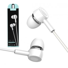 USAMS EP-12 Cuffie audio auricolari in ear universali microfono per cellulare pc tablet