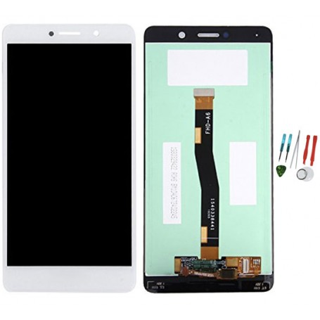 Display lcd touch screen vetro ricambio originale per Huawei Honor 6X Bianco