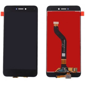 Display lcd touch screen vetro ricambio compatibile per Huawei P8 / P9 Lite 2017 Nero