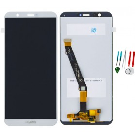 Display schermo lcd touch screen vetro ricambio originale per Huawei P Smart FIG-LX1 LX2 LX3 LA1 bianco