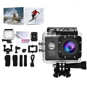 Sport Camera HD DV 1080p wide videocamera impermeabile + accessori