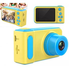 Mini macchina fotografica vera digitale display lcd 1.5' per bambini foto video fotocamera